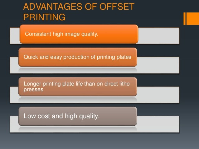 Advantages Of Offset Lithography Printing