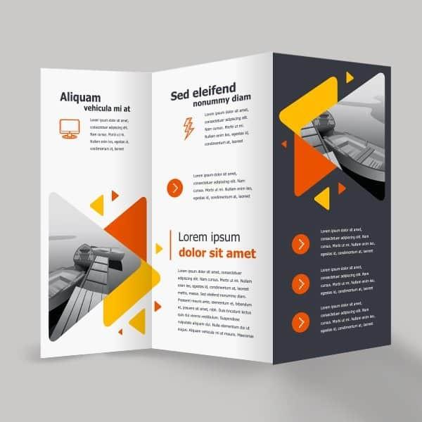 Z Fold Brochure Printing